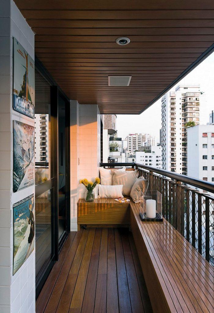 Ahşap-döşemeli-balkon-dekorasyonu